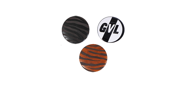 GAVIAL / LEATHER BADGES