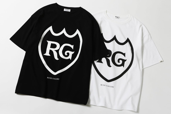 RUDE GALLERY LABEL BIG SILHOUTTE TEE