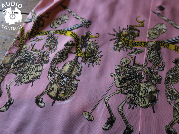 RUDE CATS S/S ALOHA SHIRT <ART WORK by Rockin Jelly Bean>