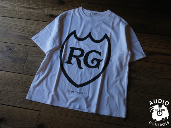 RUDE GALLERY / LABEL BIG SILHOUTTE TEE