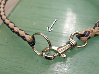 迷子札用ネックレス