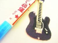 100均のギターのワッペン改1