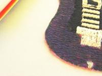 100均のギターのワッペン改2