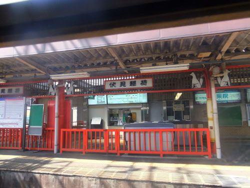 伏見稲荷の駅