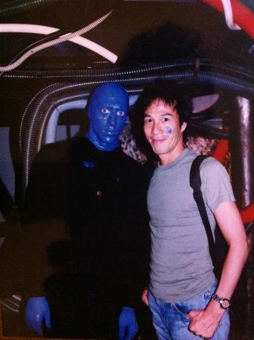 紐約的朋友傳給我以前的照片