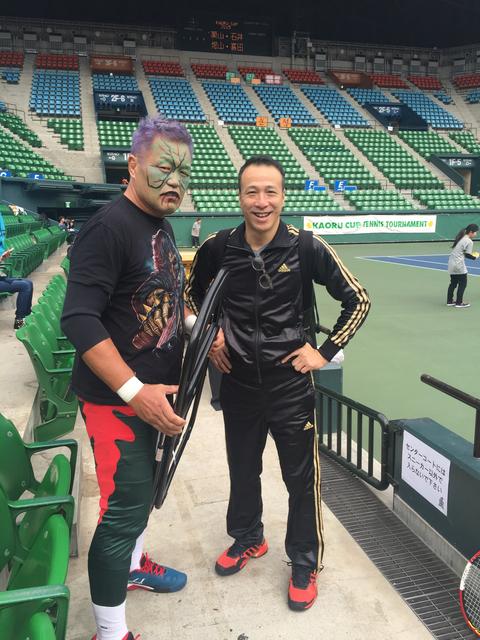 中島薫舉辦的網球比賽@有明コロシアム