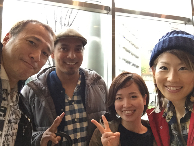 Tracy 們離開日本