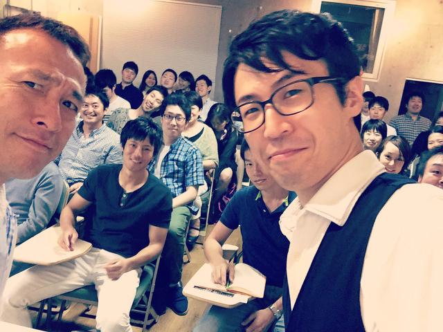 昨天跟糸賀在サンクチュアリ出版一起演講了!!!