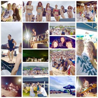 昨天・・・  在三重的志摩舉辦海濱派對!