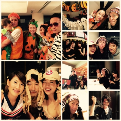 昨天・・・萬聖節派對!!!