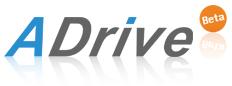 オンラインストレージ-ADriveへ