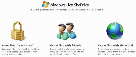 SkyDriveへ