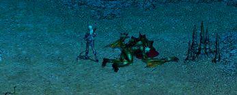Deep Sea of Ship Grave Area