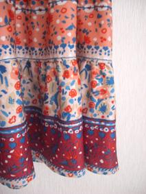 ティアードスカート2元2