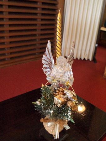 クリスマスの室礼