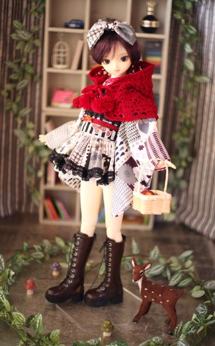 赤頭巾スタイル