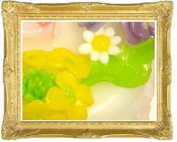 菜の花キャンドル