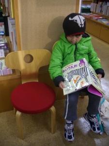 ナルニア国子ども椅子