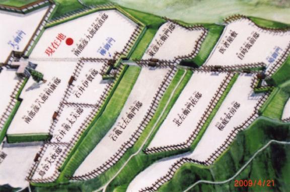 三戸城跡案内図5