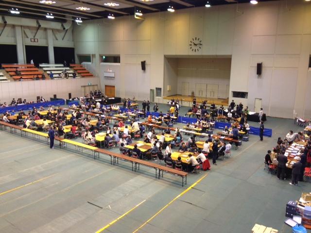 130507青森市長選挙開票作業