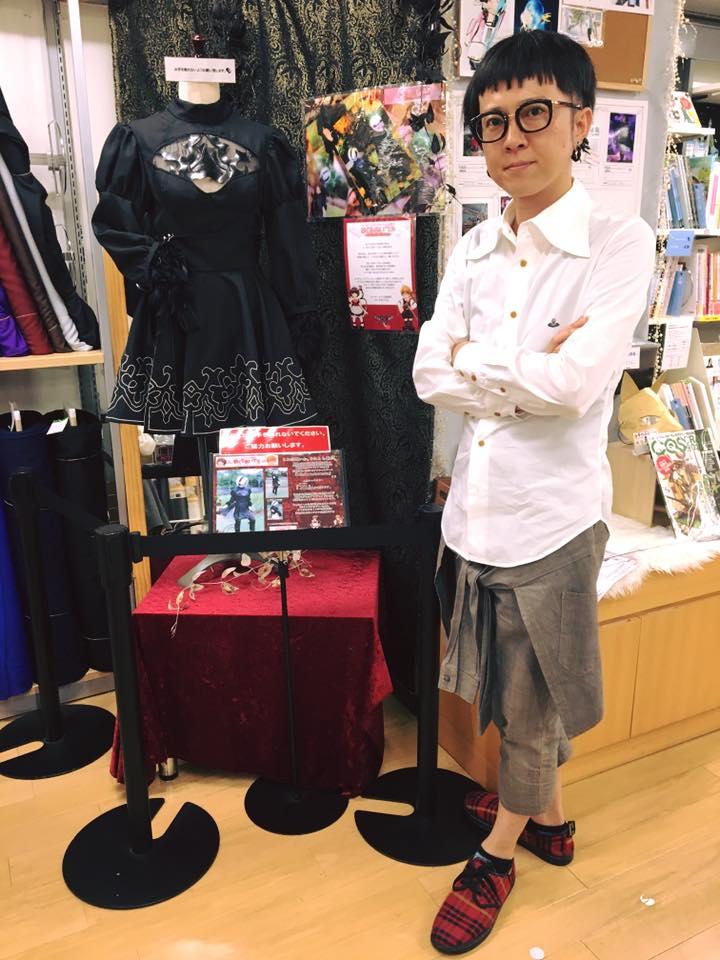 オカダヤ町田店さん衣装展示2弾