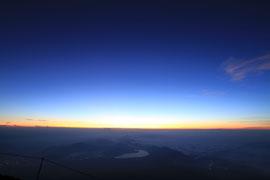 富士山御来光