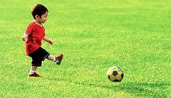 サッカーが今、そこにあるうれしさ。