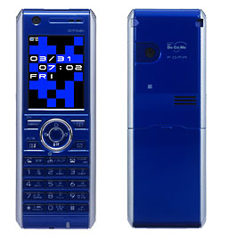 ボクの携帯:愛機「モノリス/D702i」。