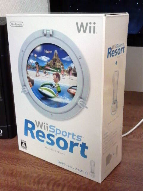 '09.6.25_Wiiスポーツリゾート1