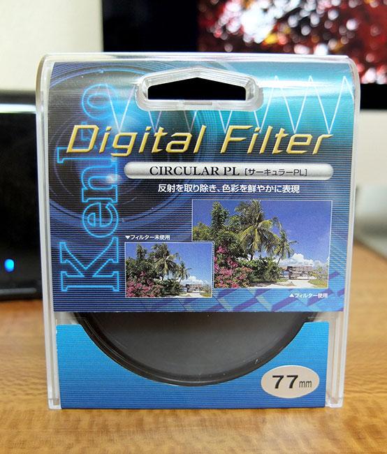 Kenko Digital FIlter CIRCULAR PL(77mm)1