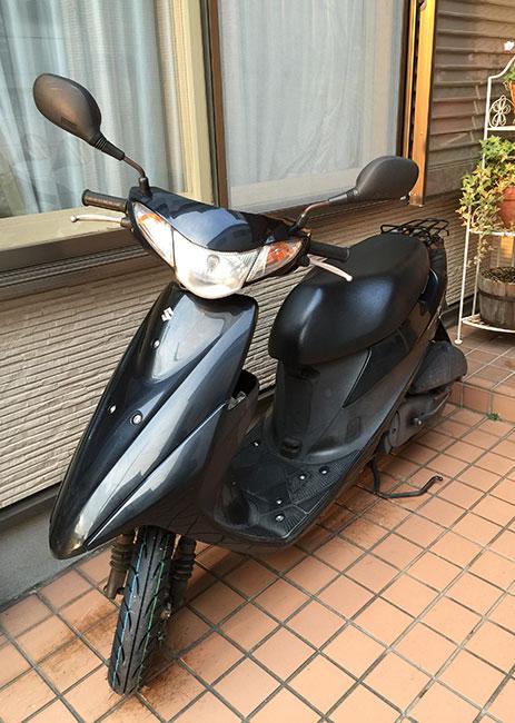 14.12.28_アドレスV50-タイヤ交換1