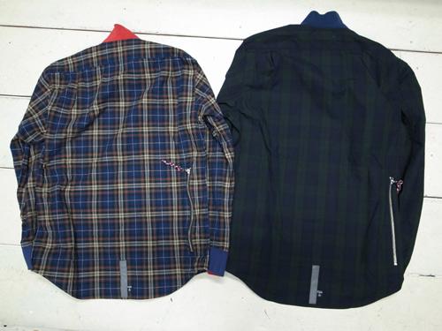 13AW Chari &Co. サイクリングシャツ.jpg