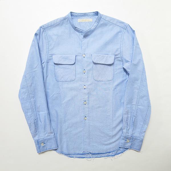 ONES STROKE ブルーオックスノーカラーシャツ.jpg
