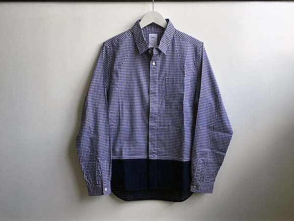Name. GINGHAM CHECK COMBINATION SHIRT.jpg