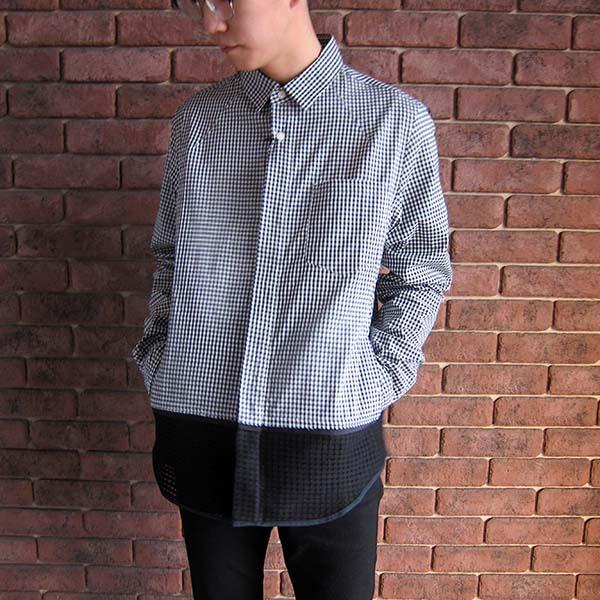 Name. ギンガムチェックシャツ ブラック.jpg