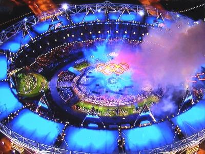 ロンドンオリンピック2012開会式...