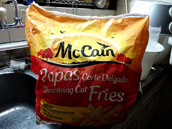 Mc Cainのフライドポテト