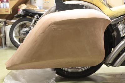 ワンオフバガー 粘土 ソフテイル