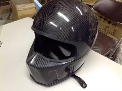 ワンオフ カーボンヘルメット