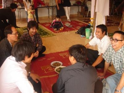 イルエ教会での愛餐