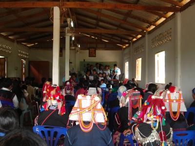 センスー村の新米祭り1