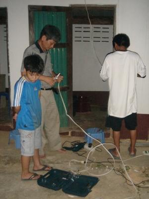 トイレの電気修理2