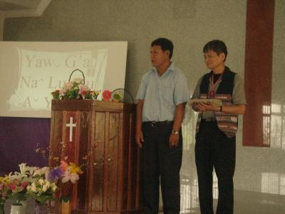 チェンライ教会にて2