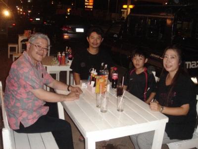 with Pastor Yoshida
