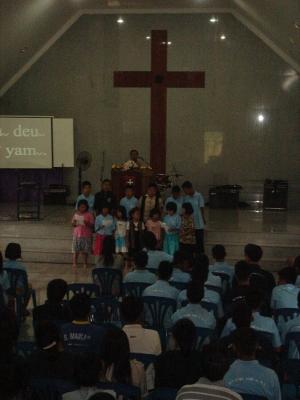 6月のチェンライ教会2