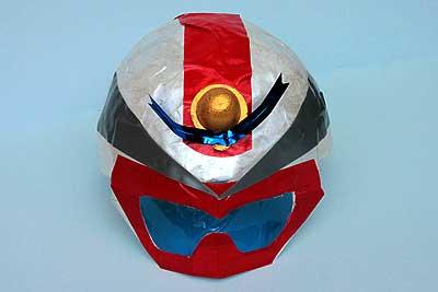 戦隊ものの仮面を作ってみました
