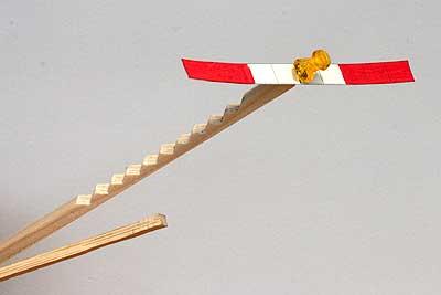 ガリガリプロペラ作例1 ナイフで削る基本形
