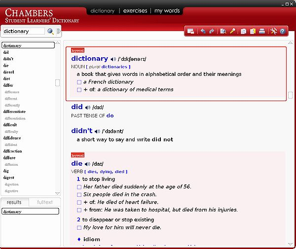 Chambers Student Learners Dictionary(1st)