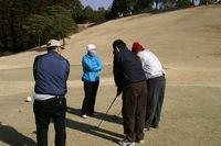 ヒョンジュ先生のゴルフ教室