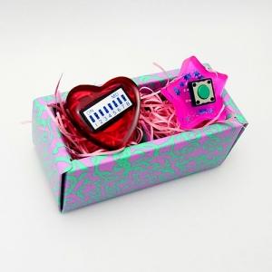 バレンタインプレゼント 電子部品アクセサリー